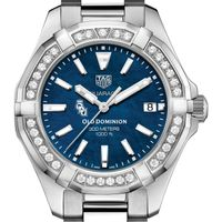 Old Dominion Women's TAG Heuer 35mm Steel Aquaracer with Blue Dial