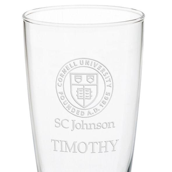 SC Johnson College 20oz Pilsner Glasses - Set of 2 - Image 3