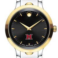 Miami University Men's Movado Luno Sport Two-Tone