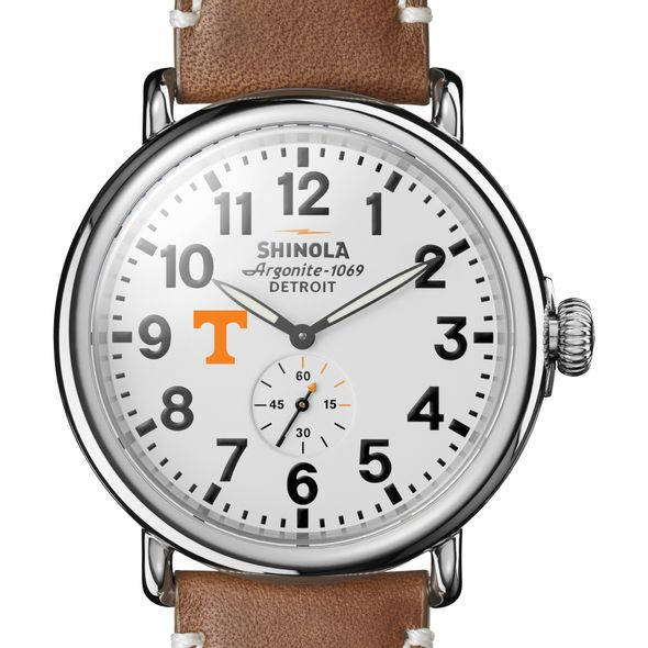 Tennessee Shinola Watch, The Runwell 47mm White Dial