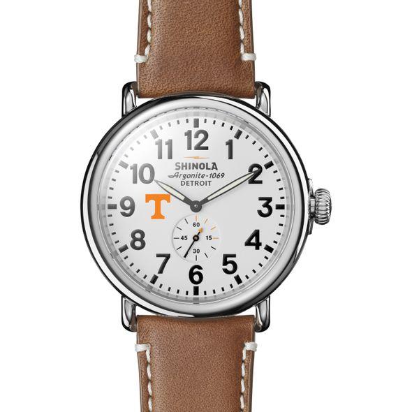 Tennessee Shinola Watch, The Runwell 47mm White Dial - Image 2