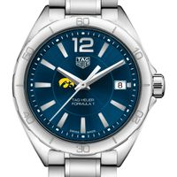 University of Iowa Women's TAG Heuer Formula 1 with Blue Dial