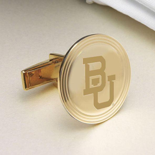 Baylor 18K Gold Cufflinks - Image 2