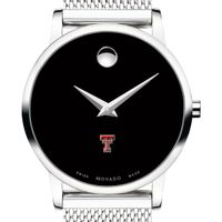 Texas Tech Women's Movado Museum with Mesh Bracelet