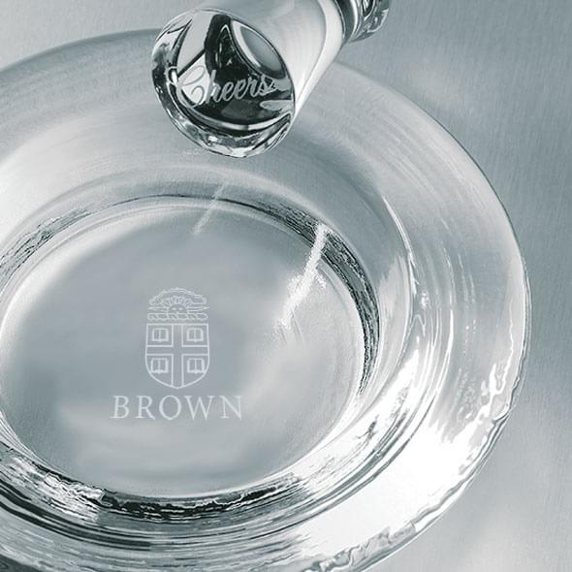 Brown Glass Wine Coaster by Simon Pearce - Image 2