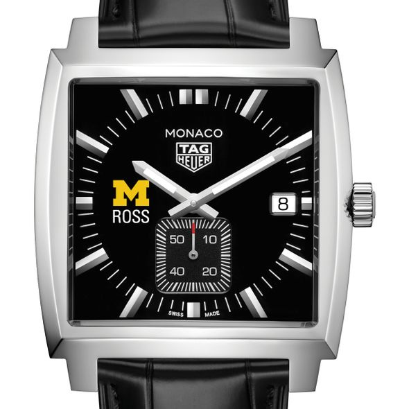 Michigan Ross TAG Heuer Monaco with Quartz Movement for Men