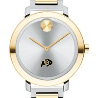 University of Colorado Women's Movado Two-Tone Bold 34
