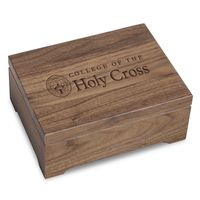 Holy Cross Solid Walnut Desk Box
