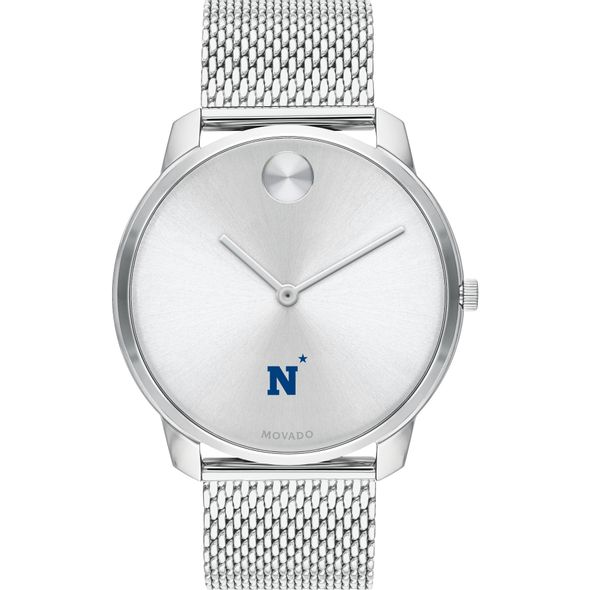 US Naval Academy Men's Movado Stainless Bold 42 - Image 2
