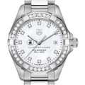 US Air Force Academy W's TAG Heuer Steel Aquaracer with MOP Dia Dial & Bezel - Image 1