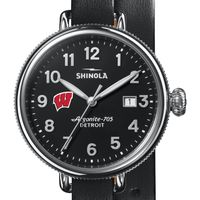 Wisconsin Shinola Watch, The Birdy 38mm Black Dial