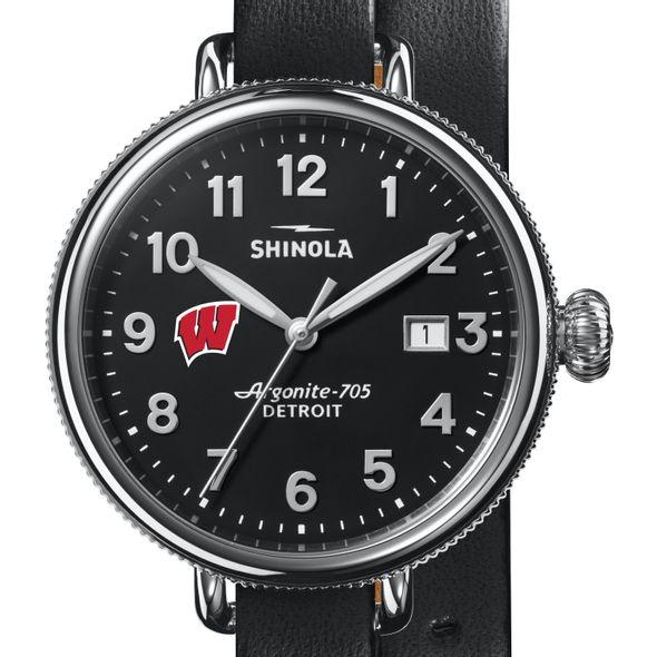 Wisconsin Shinola Watch, The Birdy 38mm Black Dial - Image 1