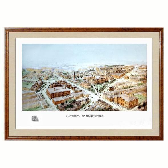 Historic University of Pennsylvania Watercolor Print