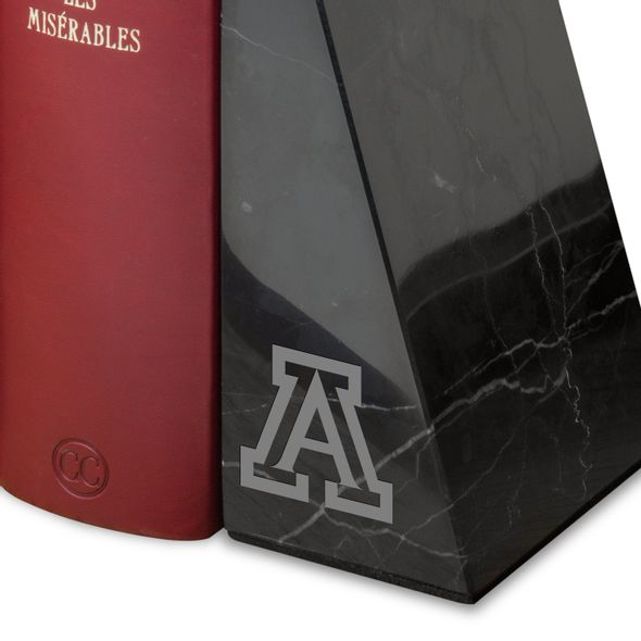 University of Arizona Marble Bookends by M.LaHart - Image 2