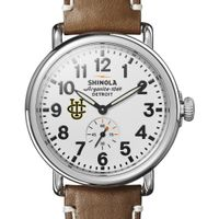 UC Irvine Shinola Watch, The Runwell 41mm White Dial