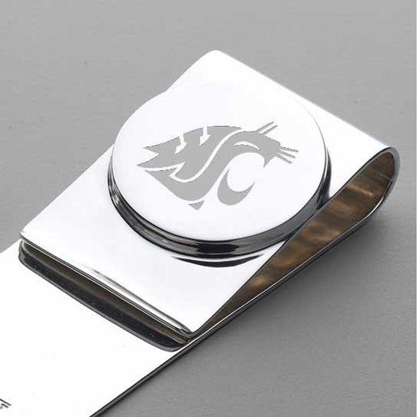 Washington State University Sterling Silver Money Clip - Image 2