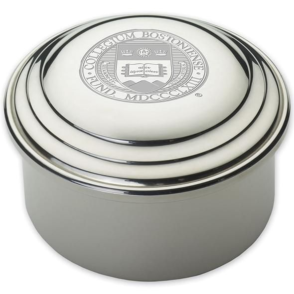 Boston College Pewter Keepsake Box - Image 2