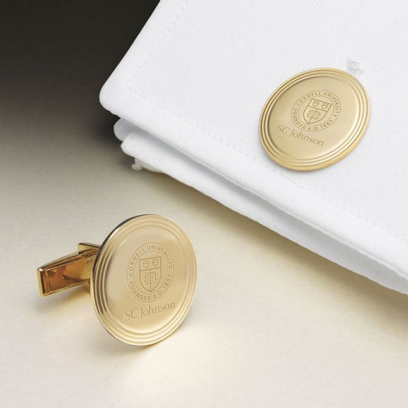 SC Johnson College 14K Gold Cufflinks