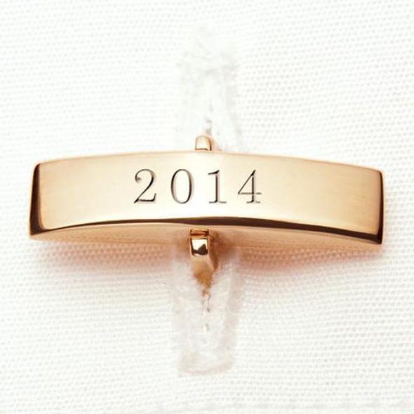 NYU 18K Gold Cufflinks - Image 3