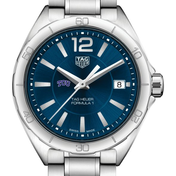 Texas Christian University Women's TAG Heuer Formula 1 with Blue Dial