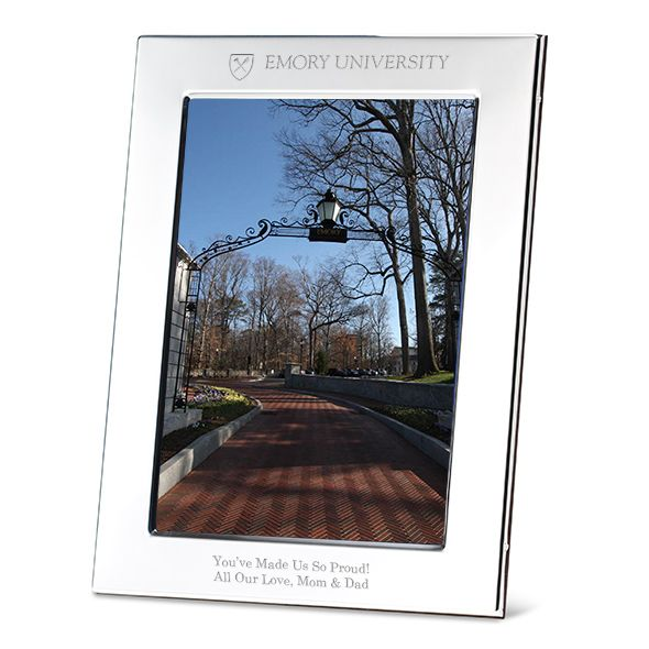 Emory Polished Pewter 5x7 Picture Frame