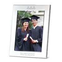 Delta Delta Delta Polished Pewter 5x7 Picture Frame