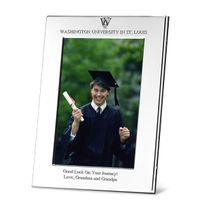 WUSTL Polished Pewter 4x6 Picture Frame