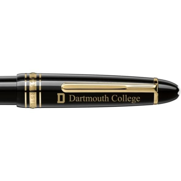 Dartmouth College Montblanc Meisterstück LeGrand Ballpoint Pen in Gold - Image 2
