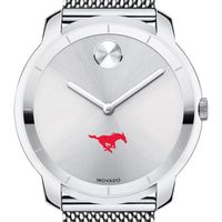 Southern Methodist University Men's Movado Stainless Bold 44