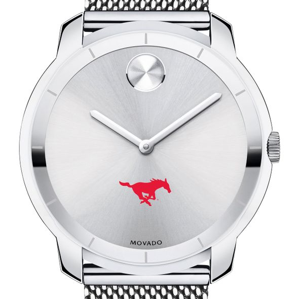 Southern Methodist University Men's Movado Stainless Bold 44 - Image 1
