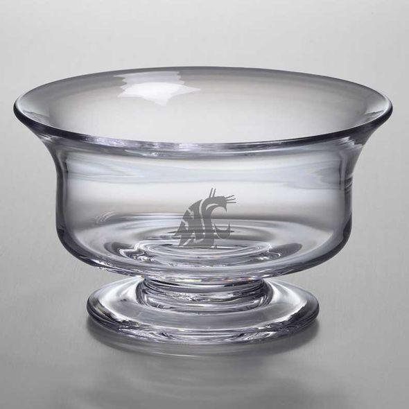 Washington State University Simon Pearce Glass Revere Bowl Med