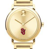 St. John's Men's Movado Bold Gold with Bracelet