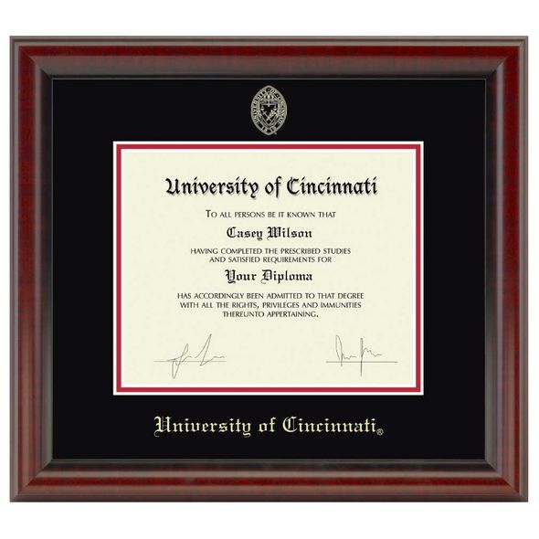 Cincinnati Diploma Frame, the Fidelitas - Image 1