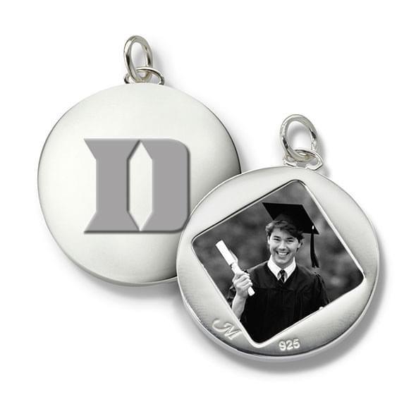 Duke Monica Rich Kosann Round Charm in Silver