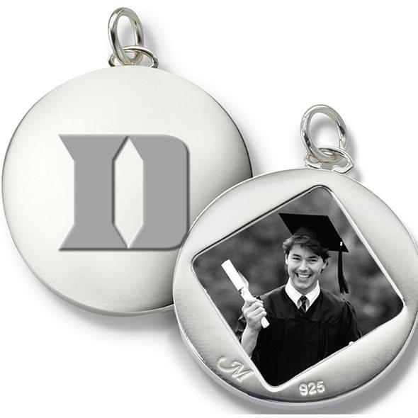 Duke Monica Rich Kosann Round Charm in Silver - Image 2