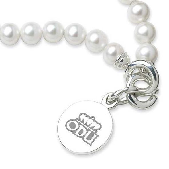 Old Dominion Pearl Bracelet with Sterling Silver Charm - Image 2