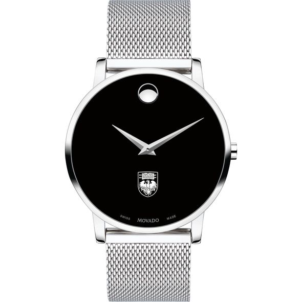 University of Chicago Men's Movado Museum with Mesh Bracelet - Image 2