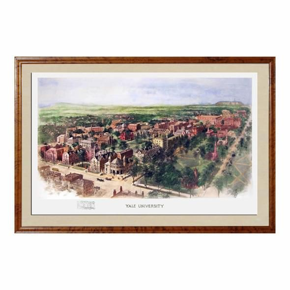 Historic Yale University Watercolor Print - Image 1