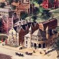 Historic Yale University Watercolor Print - Image 2
