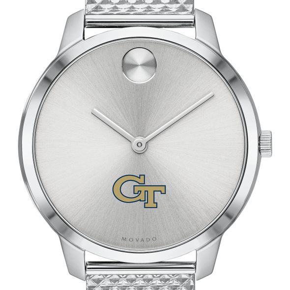Georgia Tech Women's Movado Stainless Bold 35