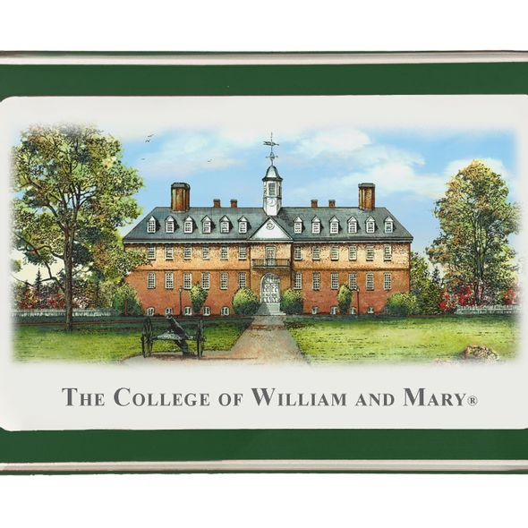 William & Mary Eglomise Paperweight - Image 2
