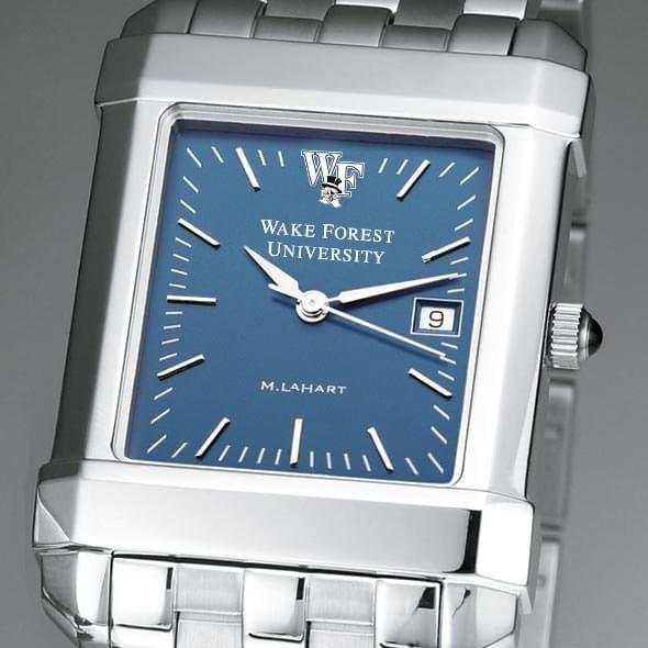 Wake Forest Men's Blue Quad Watch with Bracelet