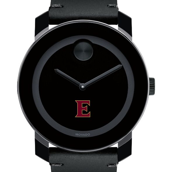 Elon Men's Movado BOLD with Leather Strap