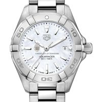 University of Tennessee Women's TAG Heuer Steel Aquaracer w MOP Dial