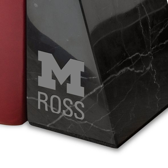 Michigan Ross Marble Bookends by M.LaHart - Image 2