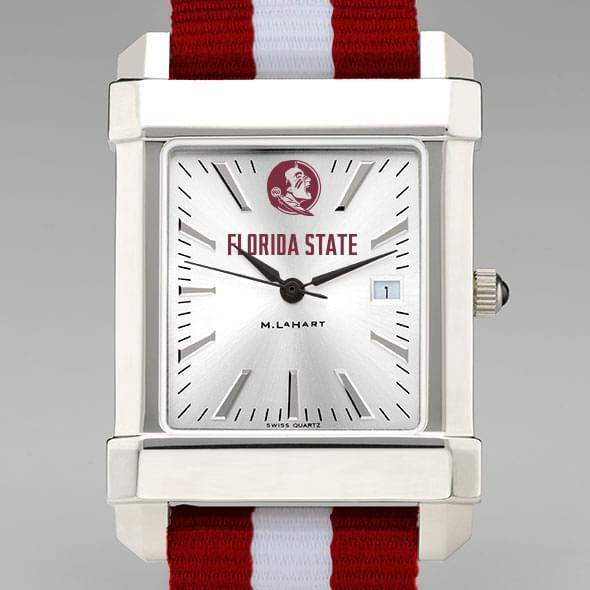 Florida State University Collegiate Watch with NATO Strap for Men - Image 1