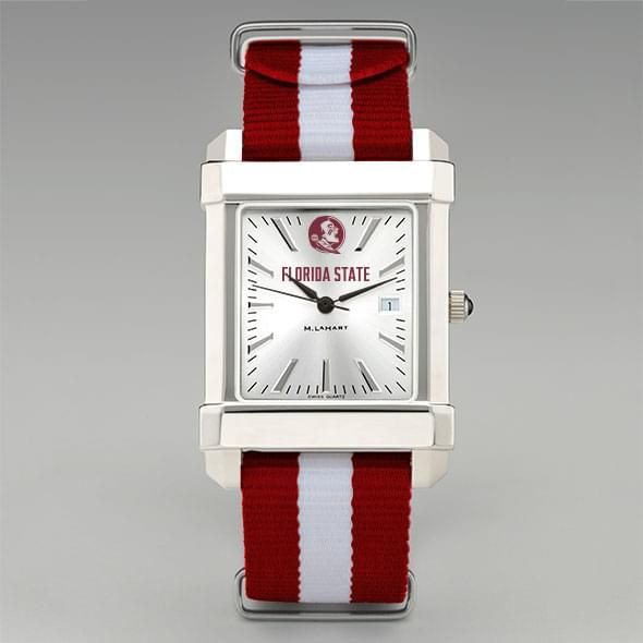 Florida State University Collegiate Watch with NATO Strap for Men - Image 2