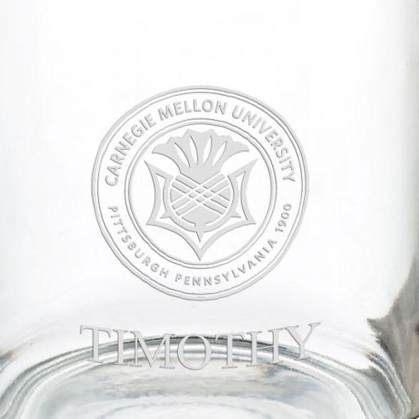 Carnegie Mellon University 13 oz Glass Coffee Mug - Image 3