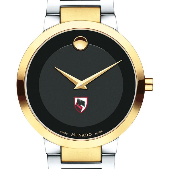 Carnegie Mellon University Men's Movado Two-Tone Modern Classic Museum with Bracelet