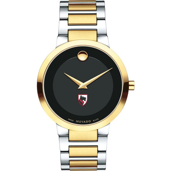 Carnegie Mellon University Men's Movado Two-Tone Modern Classic Museum with Bracelet - Image 2